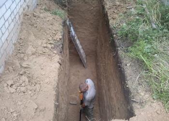 Катлован под автономный септик, выкопать недорого