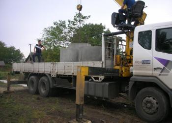 Доставка и ЖБ колец для строительства септика или колодца