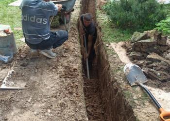Выкопать грунт под септик