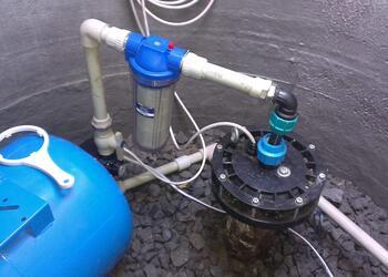 Установка системы водоснабжения загородного дома под ключ
